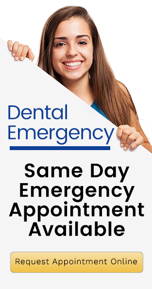 Same Day Emergency Appointment Available Banner | Dentist Forster