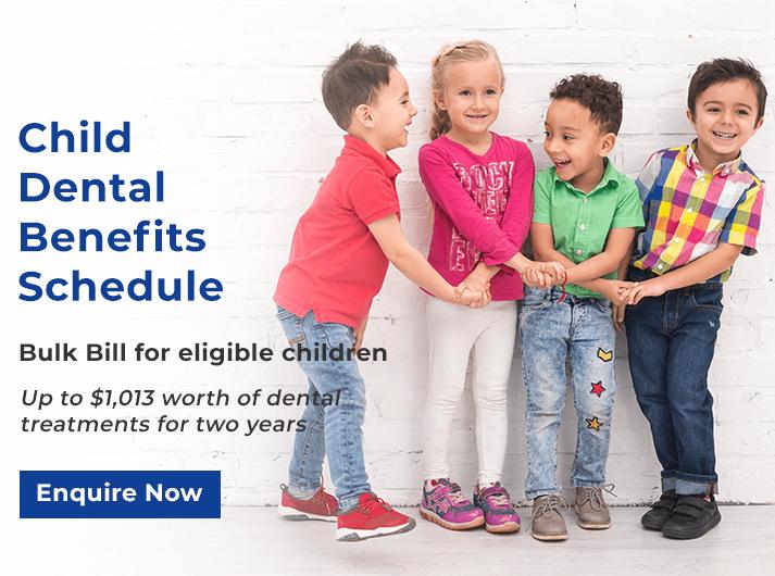 child dental benefits schedule promo banner forster